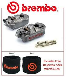 Brembo M4 Front Brake Calipers To Fit Kawasaki ZX6R 2005 - 2016