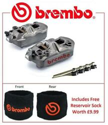 Brembo M4 Front Brake Calipers To Fit Yamaha YZF1000 R1 2004 -2006