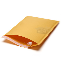 Kraft Bubble Mailers Padded Shipping Protection Envelopes Bubble The Boxery $27.50