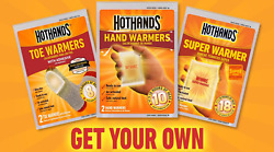 Heatmax HotHands Hot Hand Warmers Toe Warmers Body Hand Super Warmers Packs Lot
