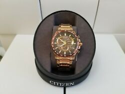 Guaranteed Authentic    Citizen Eco-Drive Perpetual Watch AT4106-52X