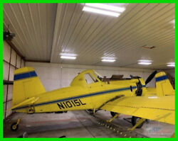 1989 Air Tractor AT-401 Airplane Complete Logs Hangared Last 15 Years