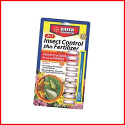 Bayer Advanced 701710 2 in 1 Insect Control Plus Fertilizer Plant Spikes $10.49