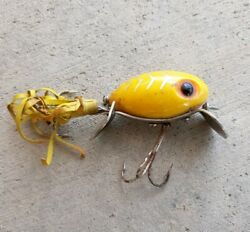 Vintage Fred Arbogast Hula Dancer Fishing Lure 3