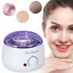 Hot Wax Warmer Portable Electric Hair Removal Kit for Facial Bikin Area Waxing