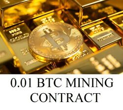 0.01 BTC SHA256 Mining Contract To Your Wallet CryptocurrencyBitcoin Antminer