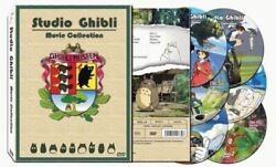 Hayao Miyazaki & Studio Ghibli Deluxe 17 Best Movie Collection 6 DVD(FREE SHIP)