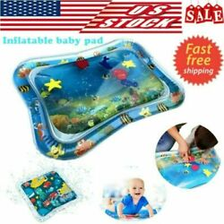 Inflatable Baby Water Mat Novelty Play for Kids Infants Tummy Time Game Summer