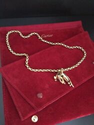 PANTHERE DE CARTIER 18K YELLOW GOLD PENDANT NECKLACE