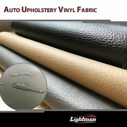 Marine Vinyl Fabric Synthetic Leather Reupholstered Car Seating Interior Decor