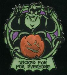 Wicked Fun For Everyone Ursula Halloween Free D LE Disney Pin 92262 $22.95