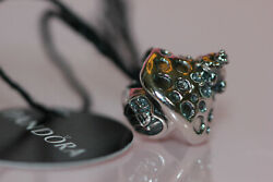 NWT FALL 2019 PANDORA MUSHROOM AND FROG CHARM 798558C00 TAG BOX BEWARE FAKE $45