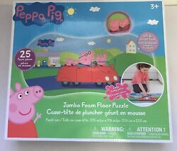 Peppa Pig 25 pieces Floor Foam Puzzle Mat Toddler Kids Girls 11