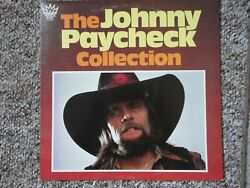 JOHNNY PAYCHECK  COUNTRY  THE COLLECTION  VINYL LP  VG+ to EX 1980 IMPERIAL