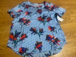 Equipment Femme Hana Blouse Multi Print Nwt
