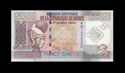 2010 FRENCH GUINEA 5000 FRANCS AFRICA (( GEM UNC ))
