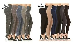 Womens Fleece Lined Plus Size Leggings Warm Winter Thick High Waisted 1X 2X 3X $7.39