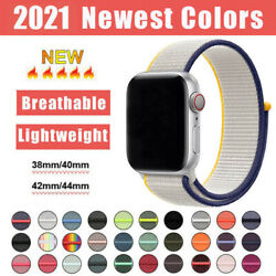 For Apple Watch Series SE 6 5 4 3 2 Nylon Sport Loop iWatch Band Strap 44MM 40MM $5.29