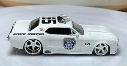 Jada Big Time Muscle '65 Ford Mustang White 164 Real Riders Loose Police