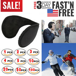 Lot Ear Muffs Winter Ear warmers Fleece Earwarmer Men Women Behind the Head Band