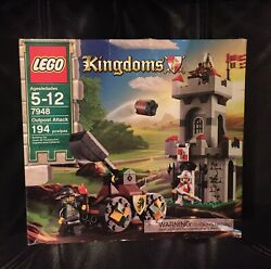 Lego Kingdoms Outpost Attack 7948 New Sealed Box 2010 Castle Knight 194 pcs
