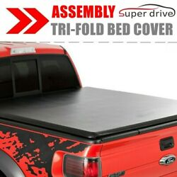 Assemble Lock Soft Tri-Fold Tonno Cover For 2015-2019 Ford F-150 5.5Ft Short Bed