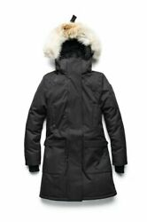 NOBIS MERIDETH - Ladies Parka BRAND NEW WITH TAGS Black Fatigue or Light Grey