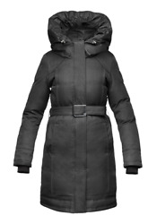 NOBIS ASTRID - Ladies Parka BRAND NEW WITH TAGS Black or Light Grey