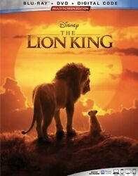 LION KING LIVE ACTION(BLU-RAY+DVD+DIGITAL)WSLIPCOVER NEW SHIPS 10221