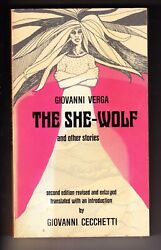 The She-Wolf and Other Stories Giovanni Verga 1973