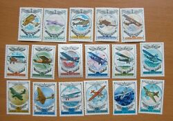 Russia Russian Aviation History full set 1976 78 17 stamps MNH $3.49