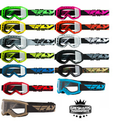 2020 Fly Racing Focus Goggles - Motocross Offroad ATV - Pick YouthAdultColor  $21.95
