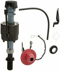 Universal Toilet Fill Valve and Flapper Repair Kit for 2-I