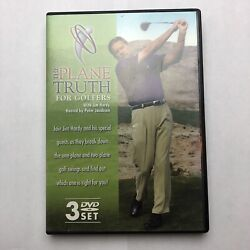 The Plane Truth for Golfers (DVD 3-Disc Set) Jim Hardy Instructional Golf Swing
