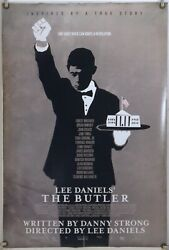 THE BUTLER DS ROLLED ORIG 1SH MOVIE POSTER FOREST WHITAKER TERRENCE HOWARD 2013