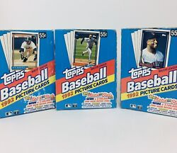 1992 Topps Baseball Wax Box  36 Unsearched Packs- Many Big Name Rookies RC's