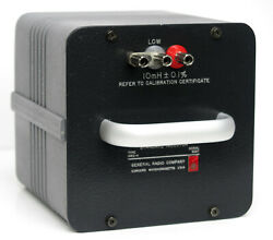 GR General Radio  GenRad  IET Labs 1482-H Standard Inductor 10 mH 1482H $599.00