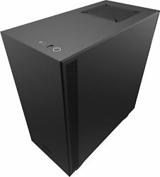 NZXT H510 Compact ATX Mid Tower Case with Tempered Glass Matte Black $72.99