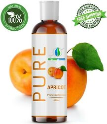Apricot Kernel Oil 4 oz Cold Pressed Carrier 100% Pure Organic For Skin Massage $7.50