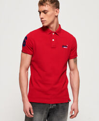 Superdry Mens Classic Pique Polo Shirt $26.27