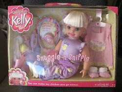 Cuddly Soft Kelly Sister Barbie Snugle #x27;n Sniffle 16quot; Soft...New In The Box $185.99