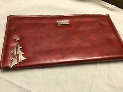 Miche Classic Shell Joy Retired Cover Red Faux Leather Christmas Tree Holiday
