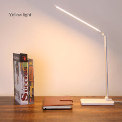 3 Mode Adjustable Arm Foldable LED Desk Lamp Table Bright Touch Reading Light