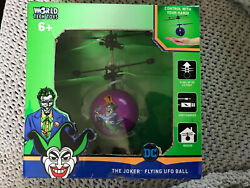 DC Comics Flying IR UFO Ball Helicopter Control with your hand JOKER $14.00