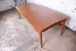 Gilbert Rohde for Herman Miller Art Deco Paldao Group Extension Dining Table $9500.00