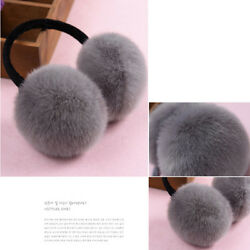 Winter Fluffy Earmuffs Womens Faux Fur Thermal Ski Ear Muffs Warmer Ear Muffs MP