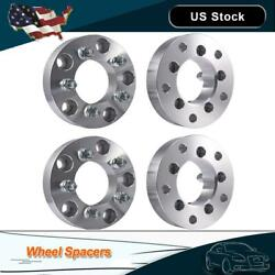"4pc USA MADE 5x110 TO 5x110 Wheel adapter 1.25/"" Spacer 12x1.5 Studs"