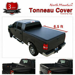 Soft Vinyl Roll-Up Tonneau Cover Assembly Fit 99-16 Ford Super Duty 6.5' Bed Blk