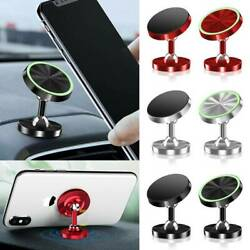 360° Magnetic Car Dashboard Phone Holder Mount Stand For Cellphone GPS Accessory $3.15