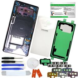 Clear Transparent Back Glass ReplacementIP68 for Samsung Galaxy Note 9 N960 $14.75